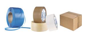 Tape, strammebånd og forsegling